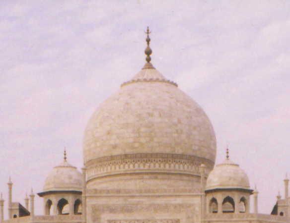 dome of the Taj
