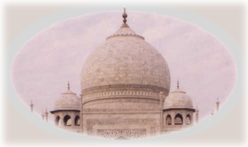 dome of the Taj