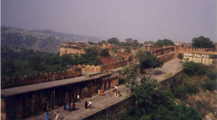 Inside the fort walls