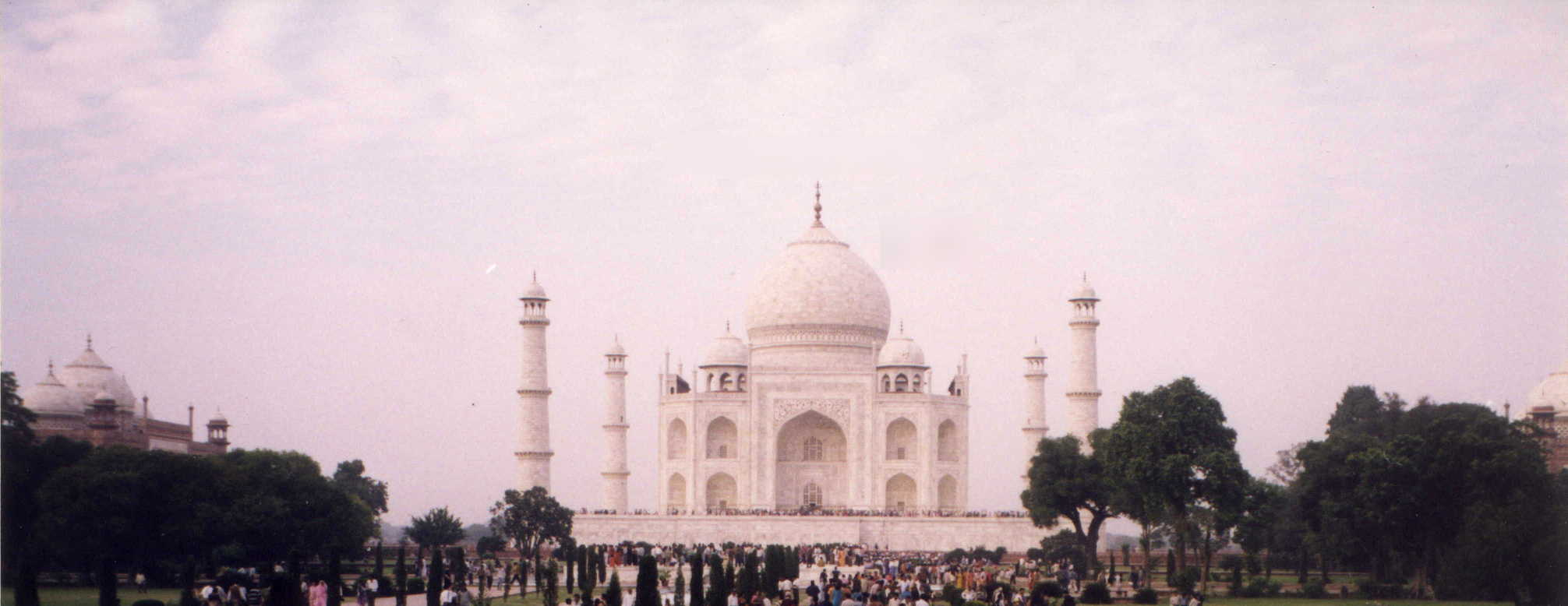 Area around the Taj